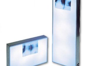 NEGATIVOSCOPIO IN ACCIAIO INOX cm 43 x 43